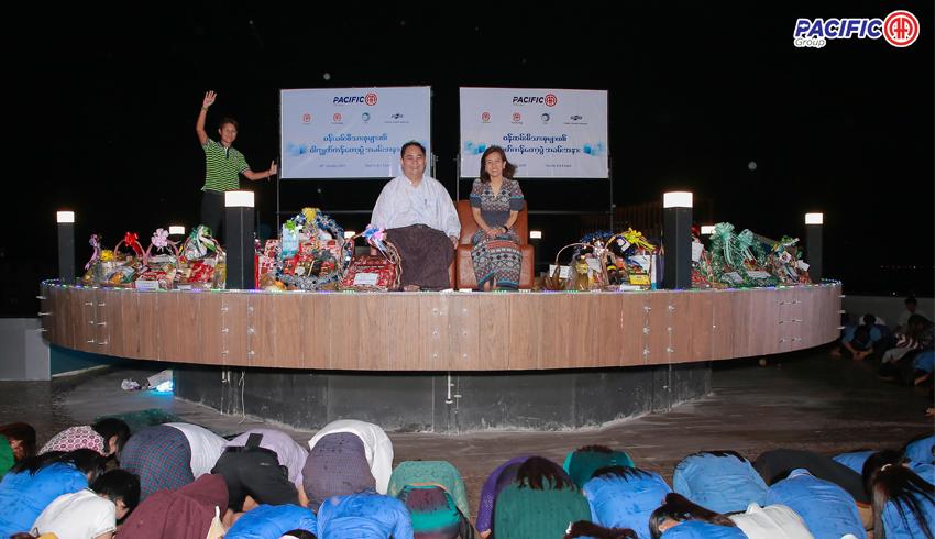 Pacific-AA Group မှ ဝန်ထမ်းမိသားစုများ၏ ဝါကျွတ်ကန်တော့ပွဲအခမ်းအနား