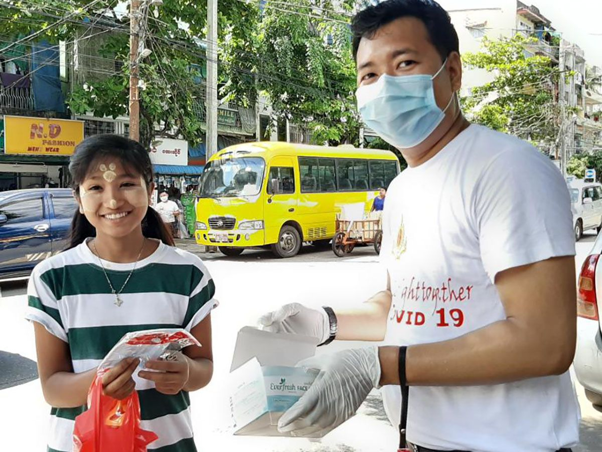 AA Medical Products Ltd participated in COVID-19 Public Health Activity organized by Myanmar Medical Association