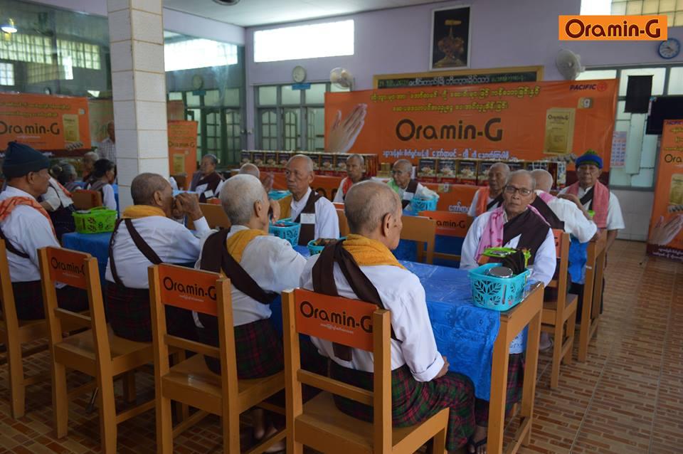 Oramin-G Donation (Pyay)
