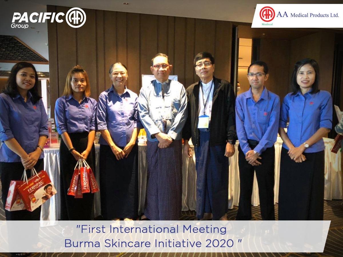 First International Meeting, Burma Skincare Initiative 2020