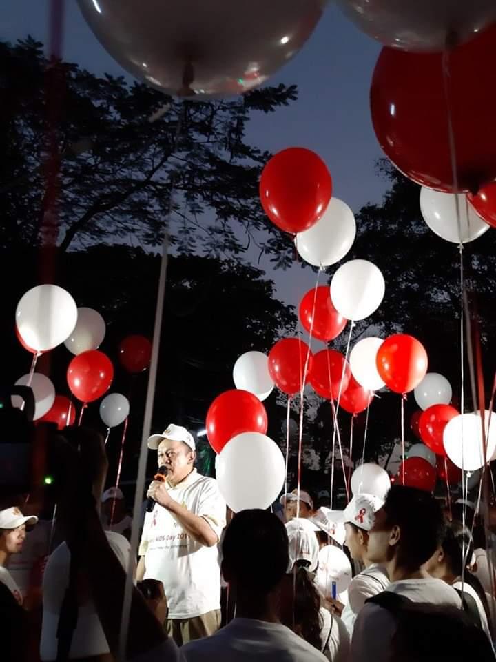 Public Walk Campaign and HIV/AIDS Health Talk Activity