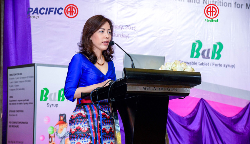 """Perspective on Growth and Nutrition for Myanmar Children:"" Symposium organized by AA Medical Products Ltd and BaB Forte Syrup"