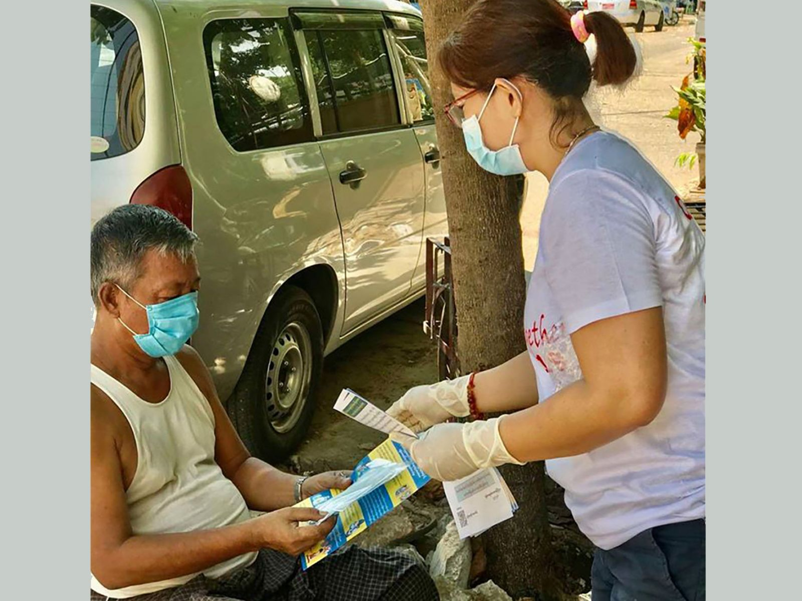 Participation in Mask Campaign (Yangon) held by Myanmar Medical Association
