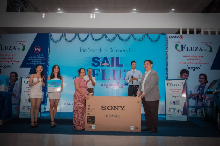 Sail With Fluza Lucky Draw