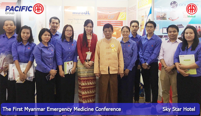 AA Medical Products Ltd and Pacific-AA Group participated as an exhibitor in The First Myanmar Emergency Medicine Conference