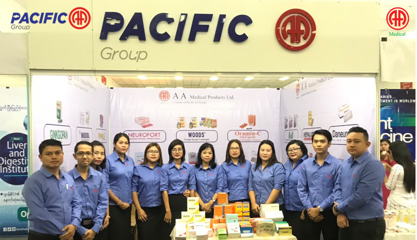 AA Medical Products Ltd , Pacific-AA Group participated the commemoration of World Hepatitis Day (2019 )