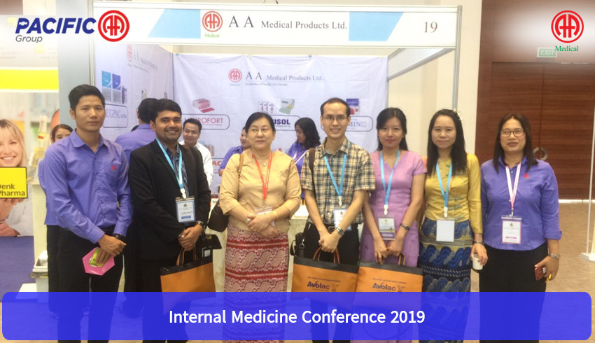 Participation and supporting the symposium on Internal Medicine Conference 2019 which organized by Internal Medicine Society.