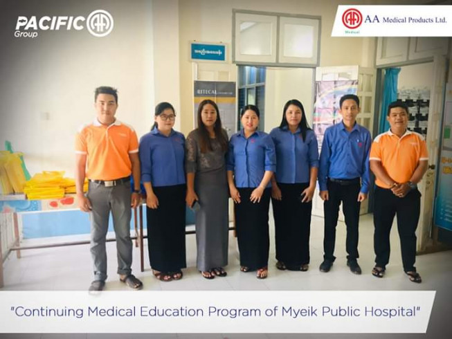 Continuing Medical Education (CME) Activity at Myeik Public Hospital