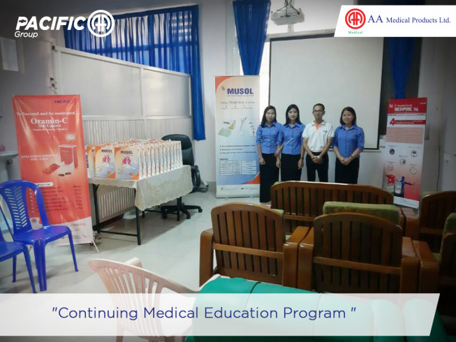 Continuous Medical Education (CME) at Hepatobiliary Surgical Ward of Yangon Surgical Hospital