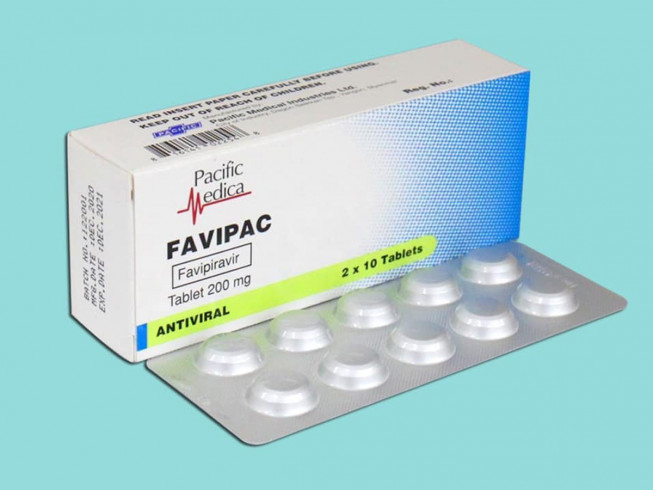 "Myanmar's first ever locally manufactured drug for Covid19 Pandemic: ""FAVIPAC (Favipiravir 200mg), COVID-19 treatment (oral tablets)"